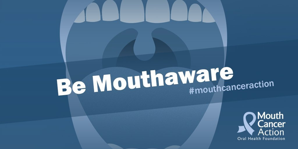 Envisage Dental TV are proud to support Mouth Cancer Action Month